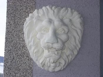 Löwenkopf von vorne