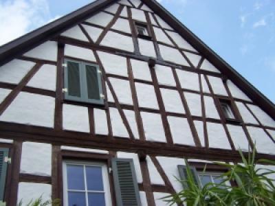 Sanierung Fachwerk Fassade 1