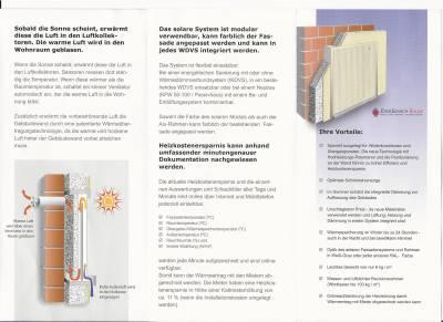 Solares Fassadensystem